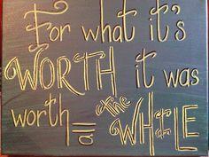 Good Riddance Green Day by WordsNotWar on Etsy, $40.00