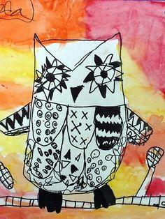 Zentangle Owl!  Love it!