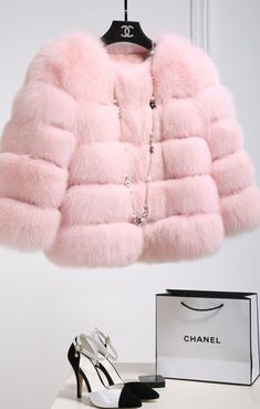 Baby pink Chanel jacket