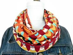 Hey, I found this really awesome Etsy listing at https://www.etsy.com/il-en/listing/222184423/southwestern-infinity-scarf-mustard