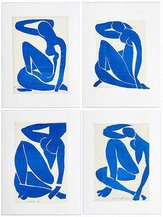 Painting with scissors: Matisse's cut-outs at Tate Modern - art - Kunst Henri Matisse, Matisse Kunst, Matisse Drawing, Matisse Paintings, Matisse Art, Matisse Tattoo, Inspiration Art, Art Inspo, Fashion Inspiration