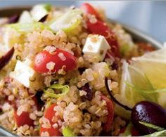healthy Quinoa Salad.