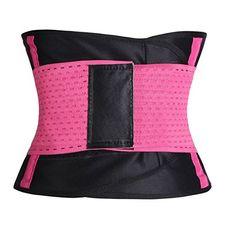 Amazon.com: Women Waist Trainer Belt Corset Cincher Shaper Workout for Weight Loss: Clothing