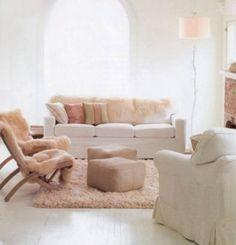 Inspiração décor – salas de estar femininas
