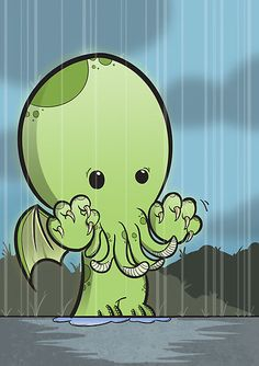 Cute little Cthulhu.