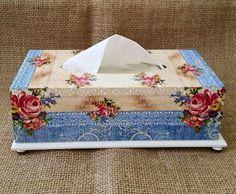 Arte lá em casa: Caixa para lenço de papel - Summerday