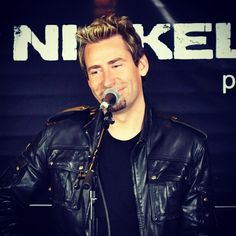 Chad Kroeger from Nickelback!