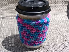 Free Cup Cozy Pattern