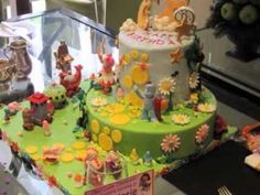 Girly in the night garden cake Cakes Cake Decorating Daily