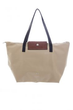 Bags :: Poppy Ultra-Light Shopper Sand - The Redletter Club $89.95