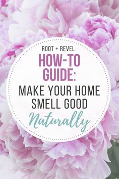 Toss toxic air fresheners and make your home smell good with safe + natural air fresheners, odor eliminators + room deodorizers. Get the scent secrets here!