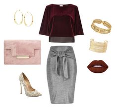 """""""Untitled #8"""" by vikinka-v on Polyvore featuring River Island, Casadei, Chanel, Charlotte Russe, Lana and Lime Crime"""