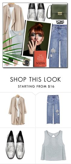 """""""2.7 NYFW Yoins"""" by wannanna ❤ liked on Polyvore featuring Garance Doré, yoins, yoinscollection and loveyoins"""