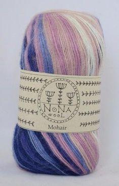 100 g 100g Farbverlaufsgarn Strickwolle NoNA WooL Jungle 50/% Wolle 300 m