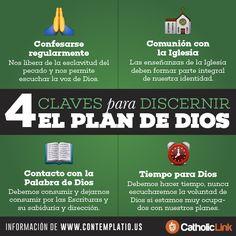 Biblioteca de Catholic-Link - Infografía: 4 pasos para discernir el plan de Dios