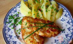 Marinovaná kuřecí prsa s vařenými bramborami – RECETIMA Zucchini, Food And Drink, Fish, Meat, Vegetables, Tableware, Kitchen, Cheesecake, Recipes