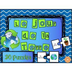 Le jour de la Terre - 30 puzzles