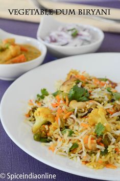 Description:Biryani is a rice dish that's popular in India and Pakistan and usually features a mix of rice, herbs, and spices as well as some type of vegetables or meat. Its ...