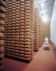 ΛƧIΛGӨ Cheese, Asiago, Italy famous for ΛƧIΛGӨ Cheese.