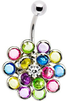 #Body Candy               #ring                     #Crystalline #MULTI #BURST #Belly #Ring #Body #Candy #Body #Jewelry           Crystalline Gem MULTI BURST Belly Ring   Body Candy Body Jewelry                                        http://www.seapai.com/product.aspx?PID=1194280