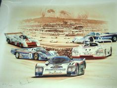 24 hrs  of le mans colage ..