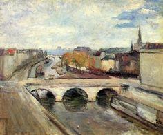 Henri Matisse, The Pont Saint Michel in Paris, 1900