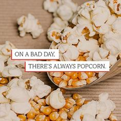 #quote #popcorn #onabadday #motivation #PopcornIndiana #snack