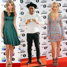 We've got your style roundup of yesterday's Teen Awards from the red carpet. Taylor Swift shines in an emerald green and gold embellished dress while Rita Ora goes floral glam in a dazzling mini dress. Labrinth styles monochrome in a casual outfit and tops it off in a back tribly hat x #Monday #Celebrity #RitaOra #TaylorSwift #Labrinth #TeenAwards #BBCR1 #BBCTeenAwards #Sunday #RedCarpet #Style #Floral #Glam #Fashion #FashionNews #StyleNews #HiddenFashion