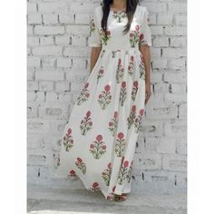 FLORAL MAXI  Online  Shopping  for designer clothing  & accessories