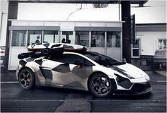 Jon Olsson Camouflage Lamborghini