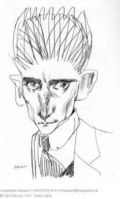 1992 : Franz Kafka - Tullio Pericoli
