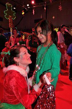 Elf and kid love
