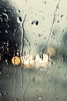 Rain of Glass iPhone Wallpaper