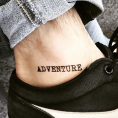 Custom Temporary Tattoos by TOOD - ADVENTURE