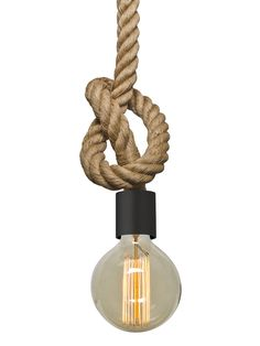 Besa Lighting Solo Rope Pendant