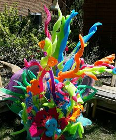 how to make a sea anemone with pipe cleaners