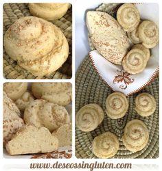 Deseos Sin Gluten: MOÑITOS DE PAN SIN GLUTEN