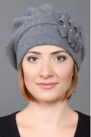 Берет - > Демисезонные женские головные уборы - Коллекции - Salontom
