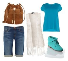 """Untitled #14"" by laylahatch on Polyvore featuring Vince Camuto, J Brand, New Look and Breckelle's"