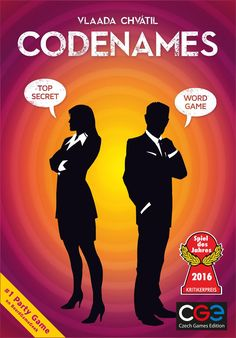 Czech Games Edition Codenames Party Game: Amazon.ca: Toys & Games