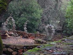 Napa Valley Garden Rock Art