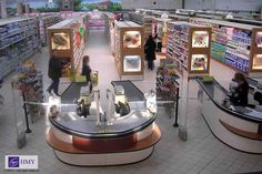 Retail Design | Checkouts | Retail Fixtures | by HMY Teknogon part of the HMY Group, your Global shopfitting partner