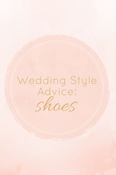 Thinking about wedding heels? 7 tips on wedding shoes...
