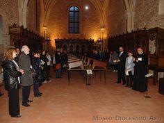 Un momento dell'inaugurazione della #mostra alla presenza di S.E. mons. Francesco Ravinale, vescovo di #Asti (Photo by Pippo Sacco)