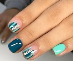 Get Nails, Love Nails, How To Do Nails, Pretty Nails, Hair And Nails, Jolie Nail Art, Nagellack Design, Shellac Nails, Shellac Nail Designs