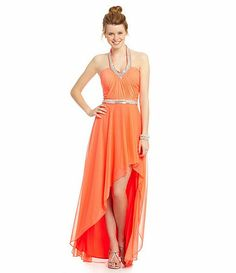 BCBGeneration Asymmetrical Dress #Dillards | Promspiration ...