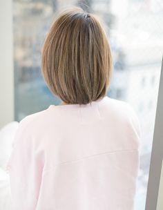ひし形シルエットカット(MO-281)   ヘアカタログ・髪型・ヘアスタイル AFLOAT(アフロート)表参道・銀座・名古屋の美容室・美容院