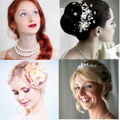 Wedding Hairstyles - what hair style will suit your wedding dress?