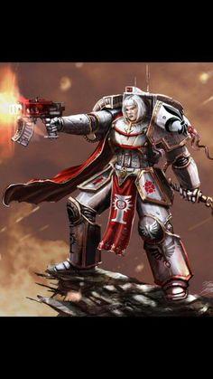 Sister of Battle Art