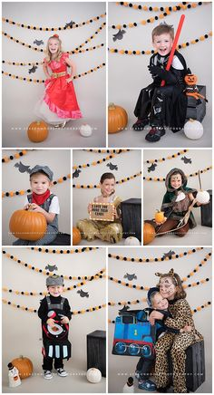Spoooky Halloween Mini Sessions are here!We all know no good pictures happen on Halloween night when trick-or-treating beckons so bring your little ghouls, goblins and superheroes to our Raleigh studio for a Halloween Portrait Party!  These quick mini sessions are open to kids of all ages…